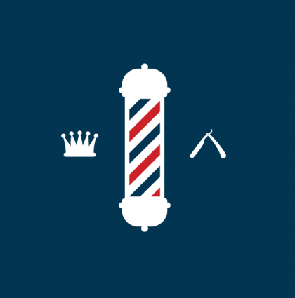 barber shop pole logo barber pole png clipart best