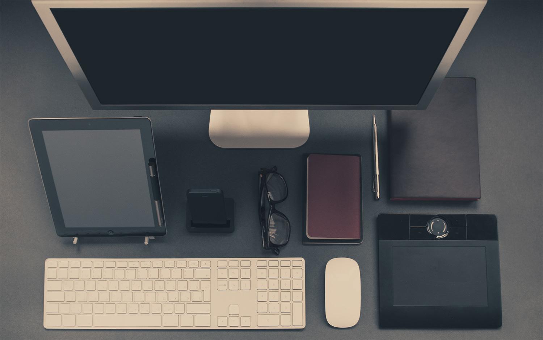 a nice tidy desk gridstack